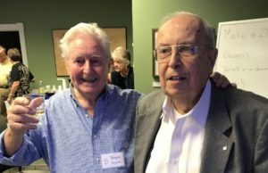 Photo of Roger Jerome and Bill Rich